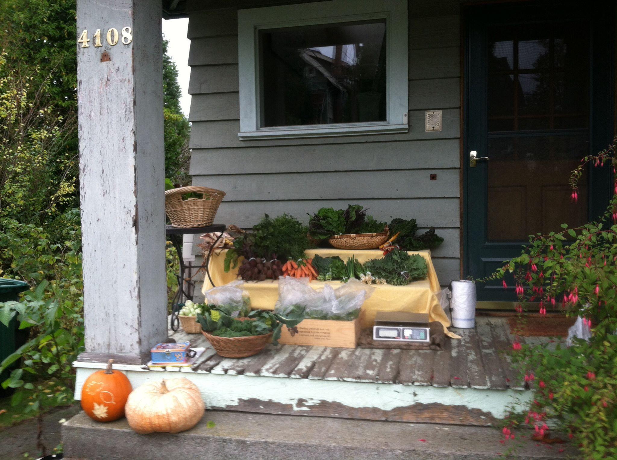 SF photo City Grown Seattle porch shop