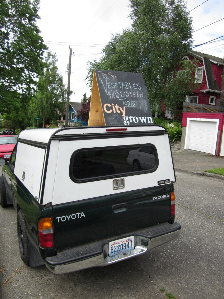 SF photo City Grown Seattle truck sign