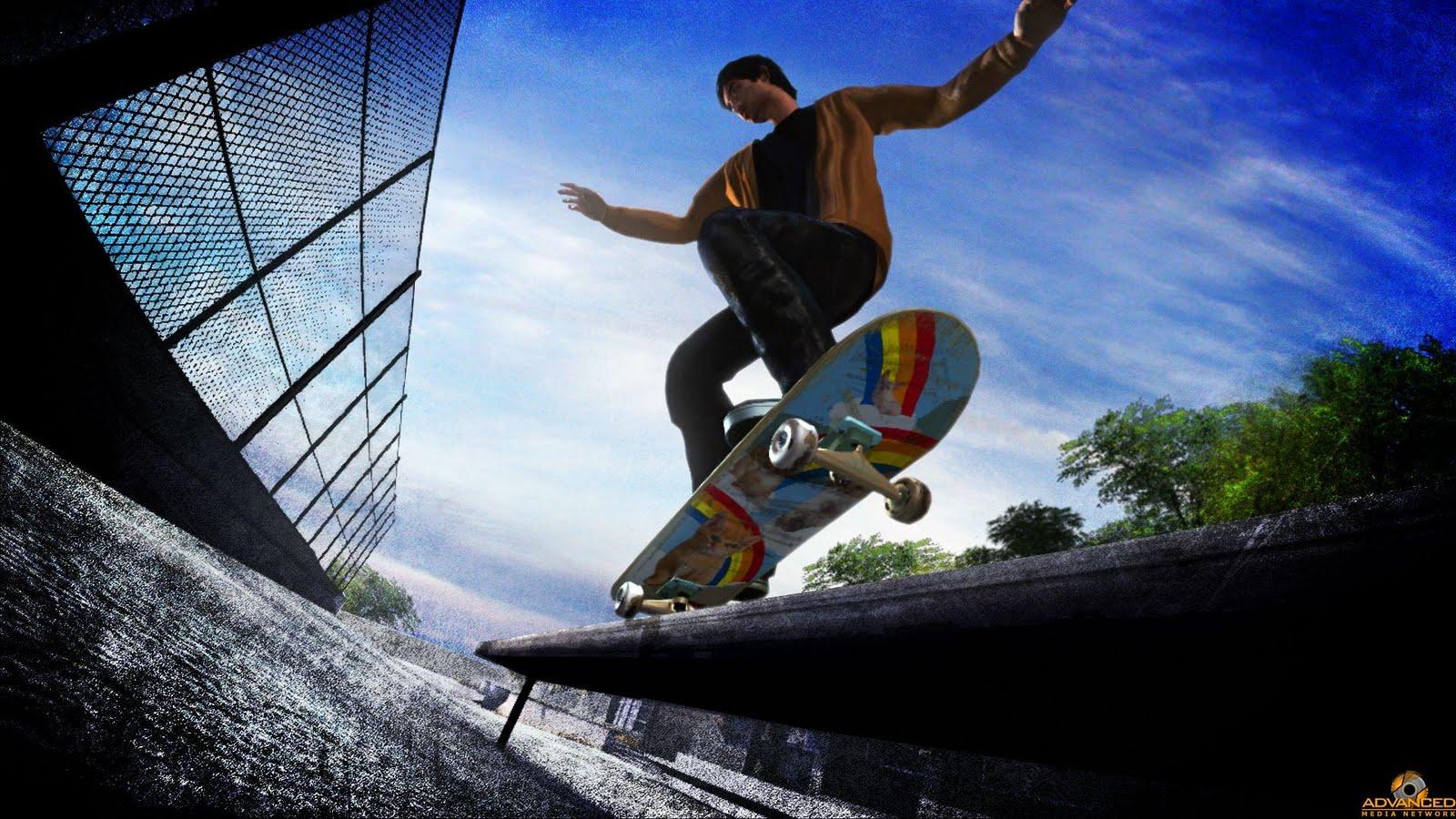 SF photo skateboarding