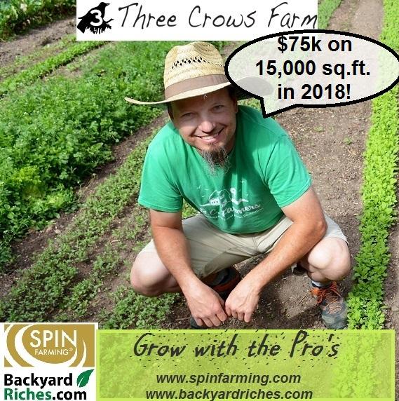 SF photo fb 3 crows farm Chris in plot a