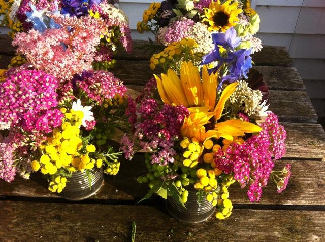 What a SPIN farmer sees here are beautiful bouquets and gas money.